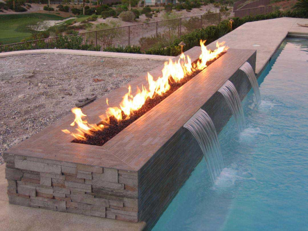 fire features arizona swimming pool service