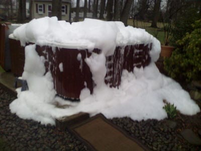 Help! My hot tub is foaming!